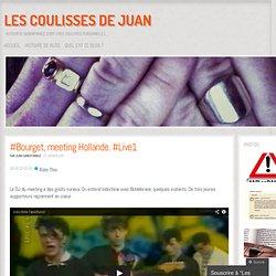 #Bourget, meeting Hollande. #Live1