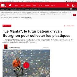 """""""Le Manta"""", le futur bateau d'Yvan Bourgnon pour collecter les plastiques"""