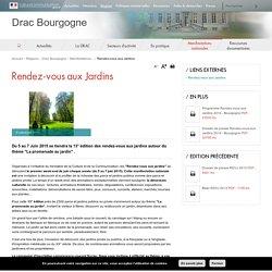 Rendez-vous aux Jardins - Drac Bourgogne