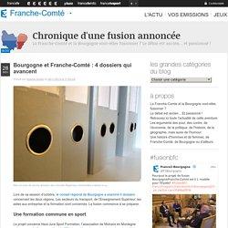 Bourgogne et Franche-Comté : 4 dossiers qui avancent