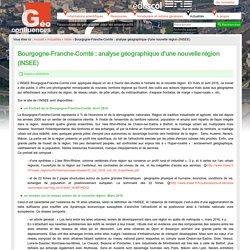 Bourgogne-Franche-Comté : analyse géographique d'une nouvelle région (INSEE)