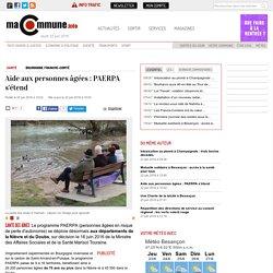 Santé, BOURGOGNE FRANCHE-COMTÉ : Aide aux personnes âgées : PAERPA s'étend actualité Besançon Franche-Comté