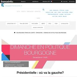 France 3 Bourgogne-Franche-Comté - Présidentielle : où va la gauche?