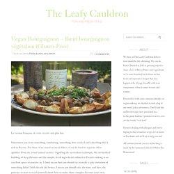 Vegan Bourguignon – Bœuf bourguignon végétalien (Gluten-Free)