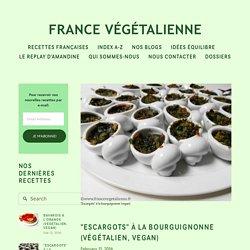"""""""Escargots"""" à la bourguignonne (végétalien, vegan) — France végétalienne"""