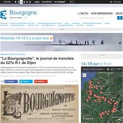 """""""La Bourguignotte"""", le journal de tranchée du 227e R.I. de Dijon - France 3 Bourgogne"""