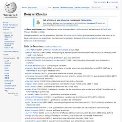 Bourse Rhodes