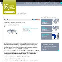 Bourses Fernand Braudel-IFER