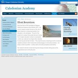 Eleni Boursinou : The Caledonian Academy