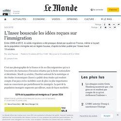 L'Insee bouscule les idées reçues sur l'immigration