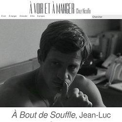 À Bout de Souffle, Jean-Luc Godard