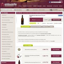 Bouteille biere vide 75 cl Brune avec Embouteille.com