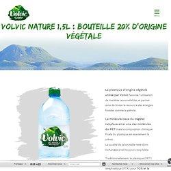 nature 1,5L : bouteille 20% d'origine végétale