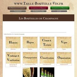 Bouteilles de Champgne : Pour tout savoir sur la bouteille de Champagne