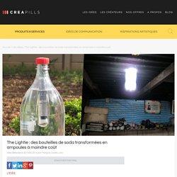 Creapills - Bouteilles de soda transformées en ampoules