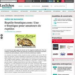 Reptile-boutique.com : Une e-boutique pour amateurs de reptiles, Le e-commerce nouvelle génération