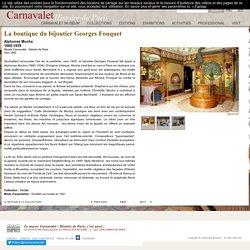 La boutique du bijoutier Georges Fouquet
