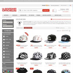 Boutique cayler and sons, Achat de snapbacks Cayler and sons