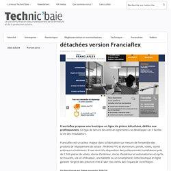 Boutique en ligne pour pièces détachées version Franciaflex - 10/10/16