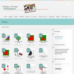 Boutique ''documents Montessori''