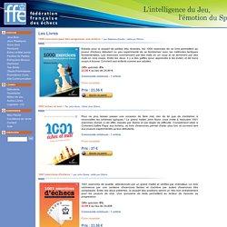 Boutique de la Fédération Française des échecs