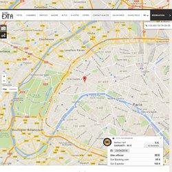 Boutique Hôtel Paris Métro Georges V - Accès & contact - Hôtel Ekta