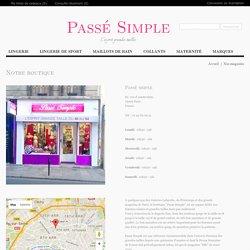 Passé Simple - Boutique en ligne de lingerie grandes tailles - Magasin - Passé simple