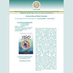 Boutique du TAO de la santé: Livres écrits par Nicole Tremblay
