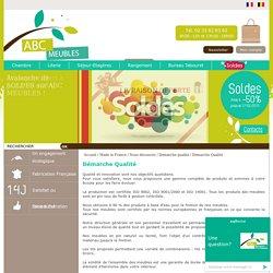Boutique Abc meubles - boutique en ligne de meubles en kit - bois massif