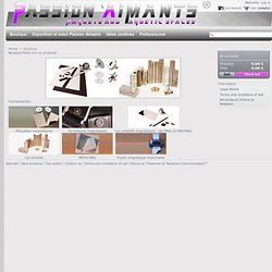 Boutique Passion Aimants