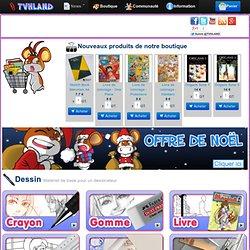 Boutique de matériel d'art plastique, de beaux arts, dessinateur de BD