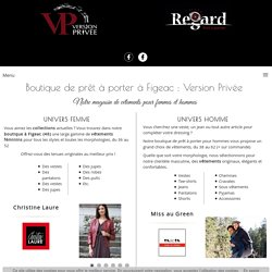 Boutique de prêt à porter à Figeac : Version Privée