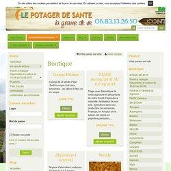 Boutique graines potagères variétés anciennes