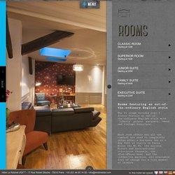 Boutique-Hotel Restaurant Le Robinet d'Or - Canal St Martin Paris Gare de l'Est - Rooms & Suites