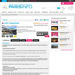 Boutique - Office du Tourisme et des Congrès de Paris