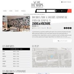 Boutique Zadig & Voltaire Aéroport de Paris CDG Teminal 2F