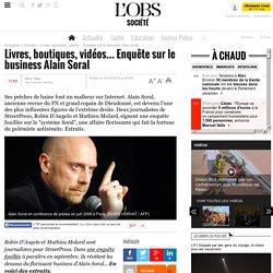 Livres, boutiques, vidéos... Enquête sur le business Alain Soral