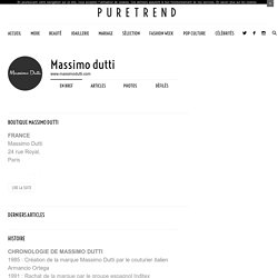 Massimo dutti - Boutiques, histoire, actualité
