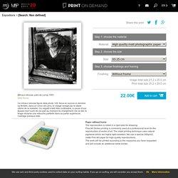 Les boutiques de musées - Print on demand
