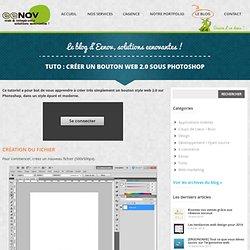 TUTO : créer un bouton web 2.0 sous Photoshop
