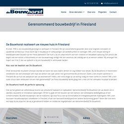 Aannemersbedrijf De Bouwhorst