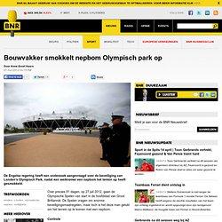 Bouwvakker smokkelt nepbom Olympisch park op