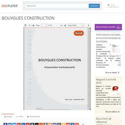 ⭐BOUYGUES CONSTRUCTION