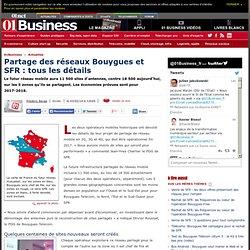 Bouygues et SFR: 11 500 sites mutualisés et 7 000 sites démontés