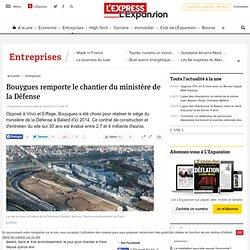 Bouygues remporte le chantier du ministère de la Défense