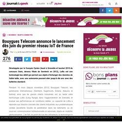 Bouygues Telecom annonce le lancement dès juin du premier réseau IoT de France