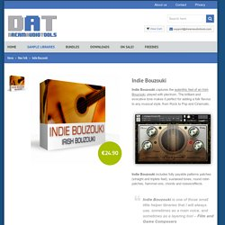 Indie Bouzouki - Irish Bouzouki Sample Library Dream Audio Tools – Sample Libraries