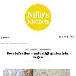 Bovetefrallor – naturligt glutenfria, vegan