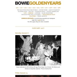Bowie Golden Years : 1977