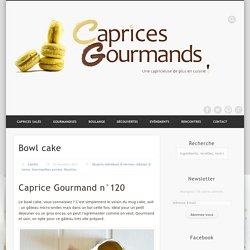 Caprices Gourmands